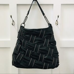 Olivia + Joy Purse with Zipper Detail